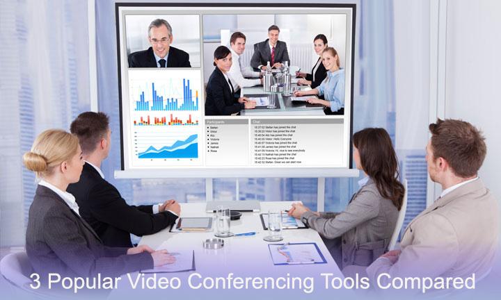 3 Popular Videoconferencing Tools Compared