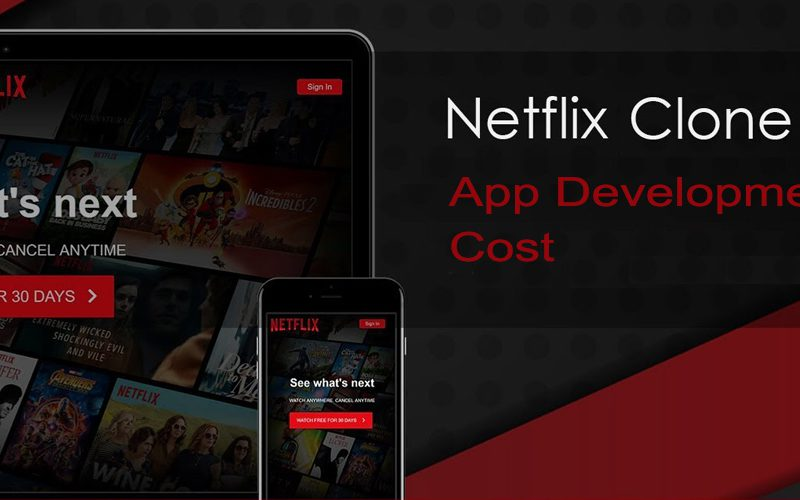 How Much Does It Cost to Develop a Netflix Clone Mobile App?